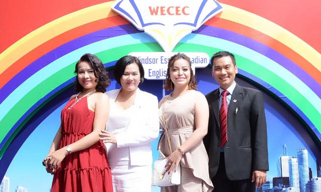 Người đẹp – Doanh nhân Lưu Bích Nga rạng rỡ dự sự kiện khai trương Trung tâm ngoại ngữ tại TPHCM