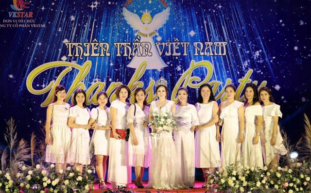 Cuộc thi Thiên Thần Việt Nam 2019 tổ chức tiệc Thanks Party hoành tráng
