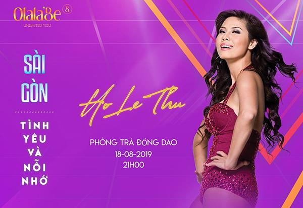 """Hồ Lệ Thu với nỗi lòng 18 năm xa xứ, trở về với đêm nhạc """"Sài Gòn tình yêu và nỗi nhớ"""""""