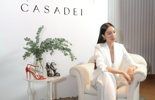 Á hậu Coco Thùy Dung chính thức giữ vai trò đại sứ thương hiệu Casadei