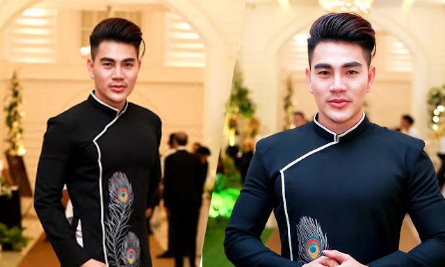 Nam vương Hoàng Gia Lâm lịch lãm trên ghế nóng cuộc thi thời trang