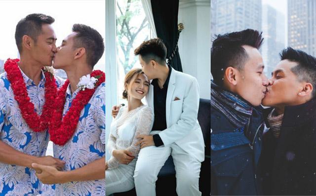 Cuộc sống hạnh phúc của 5 cặp đôi nghệ sĩ LGBT sau khi quyết định về chung một nhà