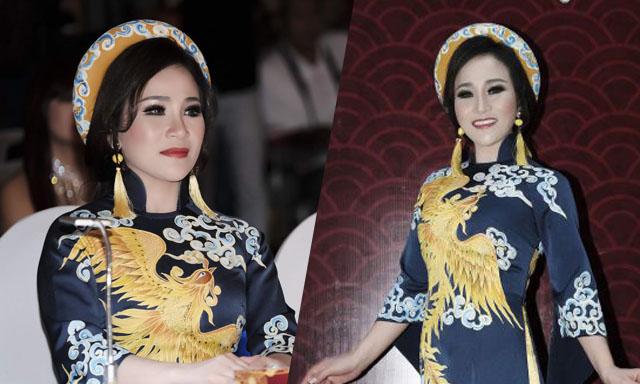 Hoa hậu Nguyễn Lan Vy dành tâm huyết cho vai trò giám khảo cuộc thi Đại sứ áo dài 2019