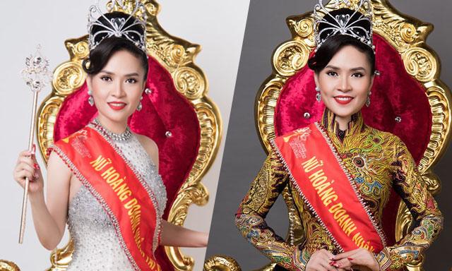 Người đẹp Kim Song Loan đăng quang Nữ hoàng với chiếc vương miện danh giá