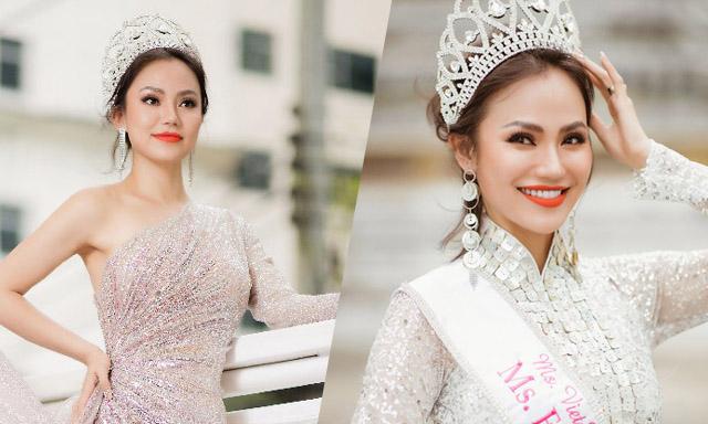 """Hoa hậu Doanh nhân Xuân Phương và vẻ đẹp """"quyền lực"""" của tài sắc"""