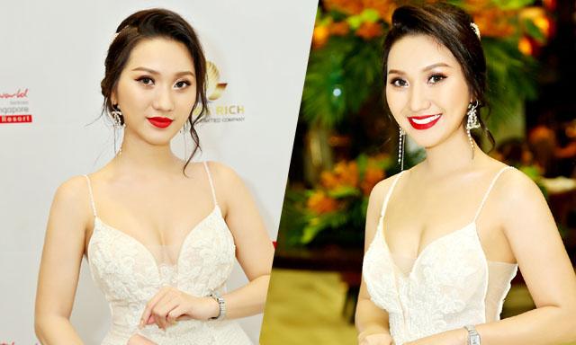 Cao Mỹ Kim trở lại showbiz sau thời gian kinh doanh với nhan sắc vạn người mê