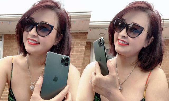 Hoa hậu Sandy Nguyễn xếp hàng từ 5h sáng để sở hữu iPhone 11