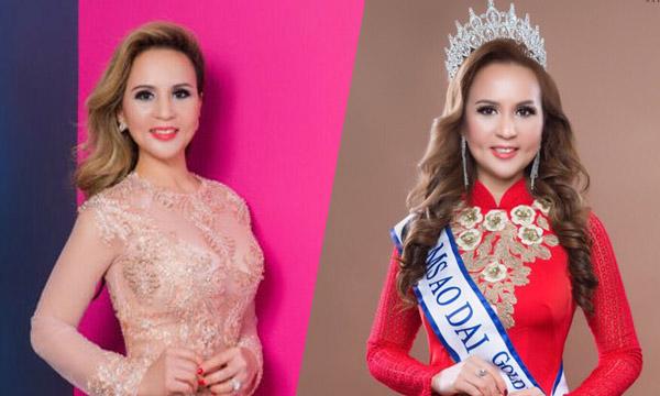 Hoa hậu Áo dài Phan Kim dành tình yêu lớn cho tà áo dài dân tộc