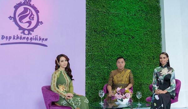 NTK Việt Hùng chia sẻ bí quyết chọn áo dài giúp người có thân hình quá khổ thon gọn hơn
