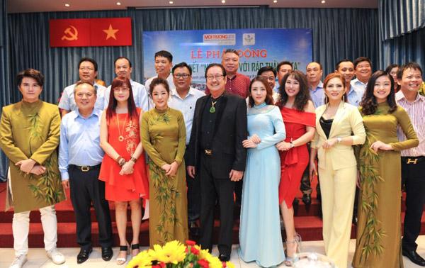 """6 Nghệ sỹ danh tiếng Việt làm Đại sứ cuộc thi viết """"Nói không với rác thải nhựa"""""""