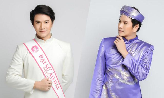 BTV-MC Vũ Mạnh Cường đồng hành cùng NTK Việt Hùng, vinh danh Áo dài Việt