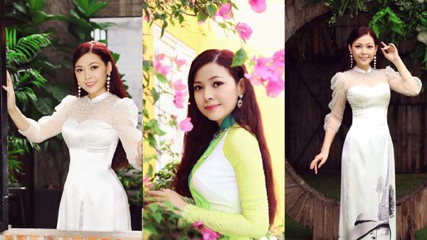 """Diễn viên Kim Thanh Thảo hóa """"nàng thơ"""", khoe nhan sắc đẹp tựa sương mai trong bộ ảnh mới"""