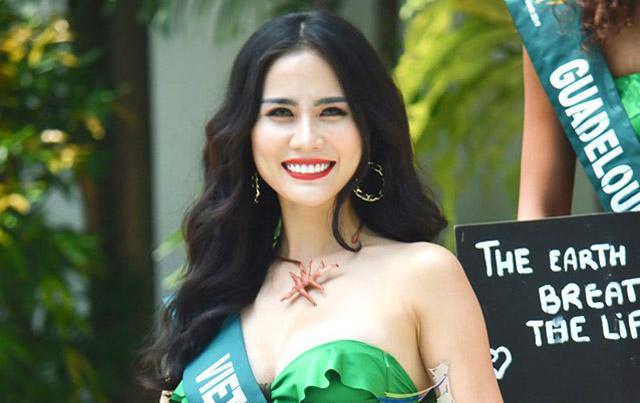 Á hậu Hoàng Hạnh lọt Top 8 thí sinh nổi bật nhất sau họp báo tại Philippines