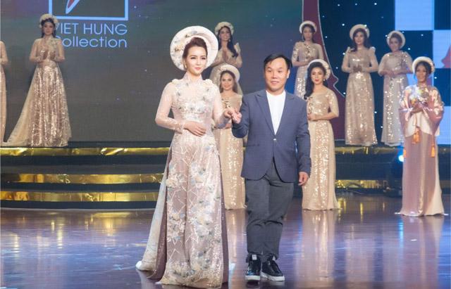"""BST """"Nữ quyền"""" của NTK Việt Hùng lộng lẫy trong đêm Gala Tôn vinh Phụ nữ Quyền năng"""