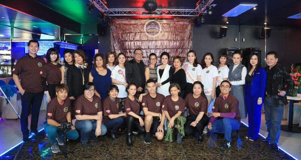 Cuộc thi Hoa Hậu Doanh nhân Người Việt Thế giới 2019 tại Châu Âu tổ chức họp báo trước thềm chung kết
