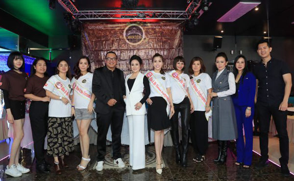 BTC họp báo trước thềm chung kết cuộc thi Hoa Hậu Doanh nhân Người Việt Thế giới 2019 tại Châu Âu