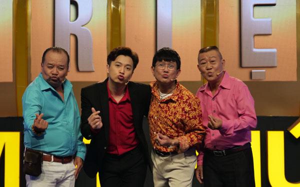 Ngô Kiến Huy thán phục tài năng không ngờ của 3 nghệ sĩ gạo cội Tam Thanh, Vũ Thanh và Bảo Trí
