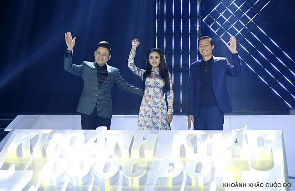 Amy Lê Anh vinh dự là khách mời talkshow Khoảnh Khắc Cuộc Đời