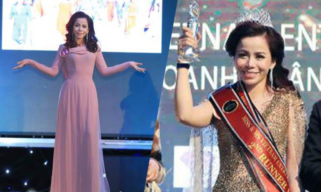 Doanh nhân Lê Thị Oanh giành ngôi vị á hậu cuộc thi Hoa hậu Doanh nhân Người Việt Thế giới 2019