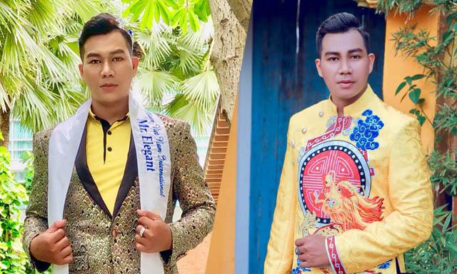 Ca sĩ Lý Ngọc Đăng đăng quang Nam vương Thanh Lịch Người Việt Thế giới 2019 tại Thái Lan