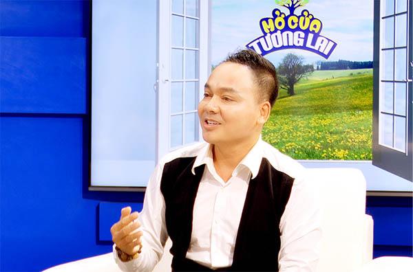 """Diễn viên Trường Thịnh làm khách mời cùng """"Mở cửa tương lai"""" giúp người đàn ông mắc bệnh u tụy"""