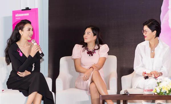 Ngọc Diễm, bà xã Bình Minh bàn luận về vẻ đẹp nữ giới