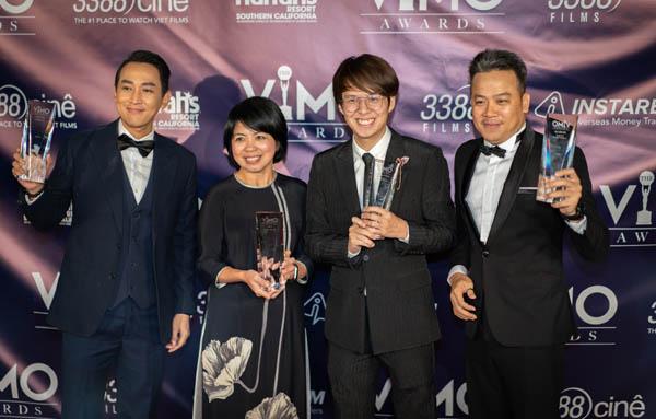 Vũ Ngọc Phượng, Hứa Vĩ Văn được vinh danh tại VIMO Awards 2019