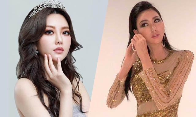Hoa hậu Hoàn vũ Hàn Quốc mặc trang phục nhà thiết kế Việt Nam