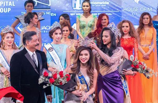 """Chung kết Miss/Mrs Golden World Beauty Pageant 2019: Mỹ nhân """"lai"""" xuất sắc đăng quang"""