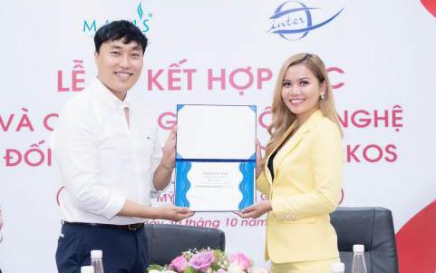 Mỹ phẩm Mavi's thực hiện ký kết chuyên giao công nghệ với tập đoàn Interkos