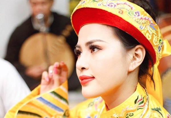 Hoa hậu Rita Đặng và niềm tin vào văn hóa tâm linh