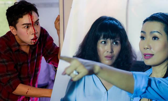 NSƯT Trịnh Kim Chi tung trailer phim ma quỷ khiến khán giả rùng mình