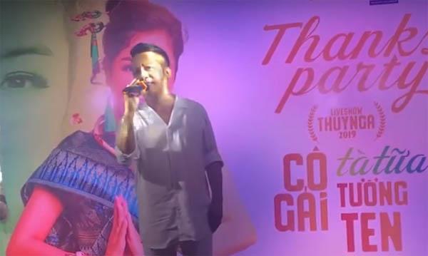 Minh Nhí lần đầu hát tặng học trò Thuý Nga