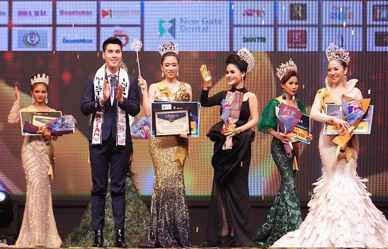 Đêm chung kết thành công rực rỡ của cuộc thi Hoa hậu Doanh nhân Thái Bình Dương 2019