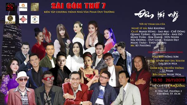 """Nghệ sỹ hải ngoại Mạnh Hùng bất ngờ xuất hiện trong """"Đêm Tái Ngộ"""" tại Trung tâm Sài Gòn Thứ 7"""