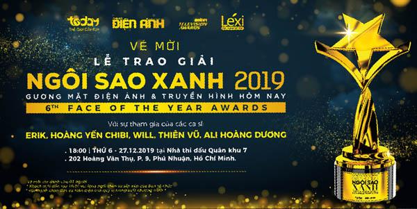Ngôi Sao Xanh 2019: Hàng ngàn vé mời đã sẵn sàng dành tặng khán giả