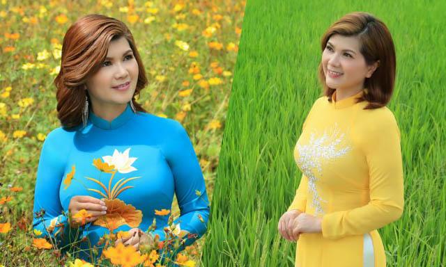 Những shoot hình đẹp của á hậu Phạm Kiều Oanh bên cảnh sắc miền Tây