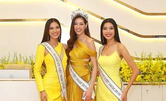 Top 3 Hoa hậu Hoàn Vũ cùng dàn sao Việt khám phá công nghệ hiện đại nhất của ngân hàng Việt