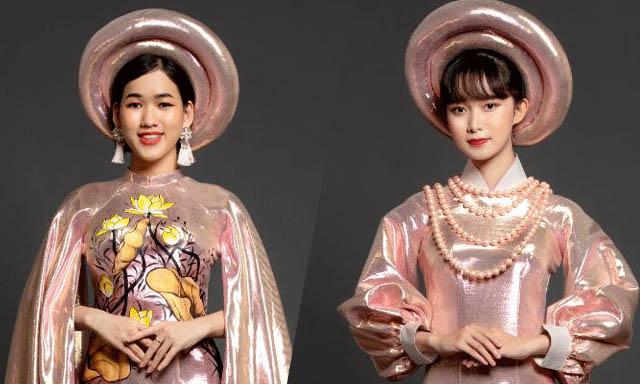 """NTK Việt Hùng mang BST Áo dài lên sân chơi """"Beauty and Shine 2019"""""""