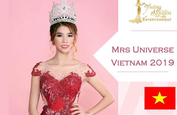 Mrs Universe Việt Nam – Phan Hiếu lên đường sang Trung Quốc thi đấu