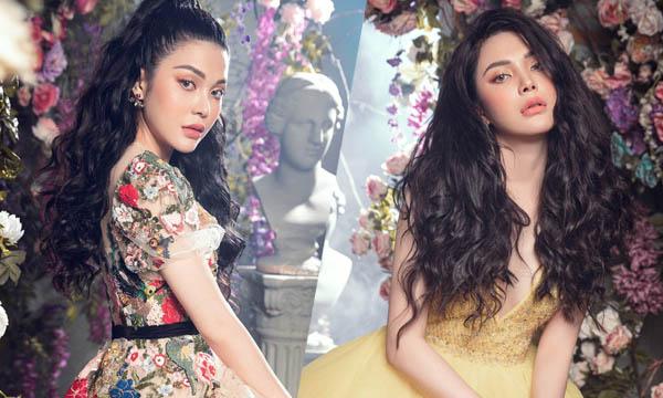 Lily Chen hóa công chúa gợi cảm giữa rừng hoa cổ tích
