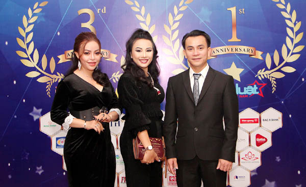 CEO Lê Phạm xuất hiện đầy quyến rũ tại Lễ kỷ niệm 3 năm thành lập Truyền hình Báo Pháp luật Việt Nam