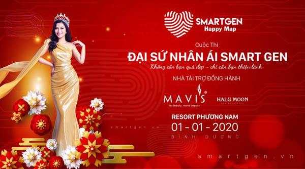 Hoa hậu Nguyễn Ngọc Xuân Mai nỗ lực trong vai trò gương mặt đại diện cuộc thi Đại sứ Nhân Ái Smartgen