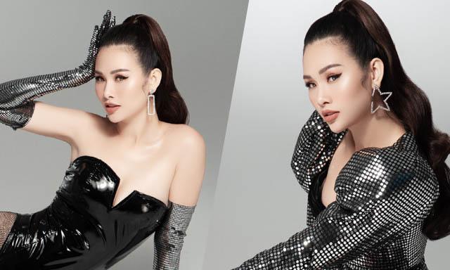 Á hậu Thanh Trang chọn trang phục tôn đường cong nóng bỏng