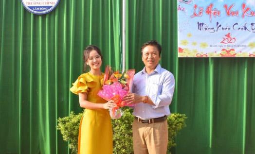 Trường THPT Trường Chinh, Lâm Đồng tổ chức Lễ hội mừng Xuân 2020