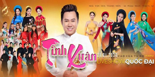 Ca sĩ Quốc Đại tôn vinh áo dài Việt trong liveshow miễn phí dành tặng khán giả