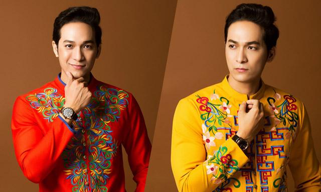 Mỹ nam Huỳnh Trường Thịnh gợi ý áo dài nam đón Tết
