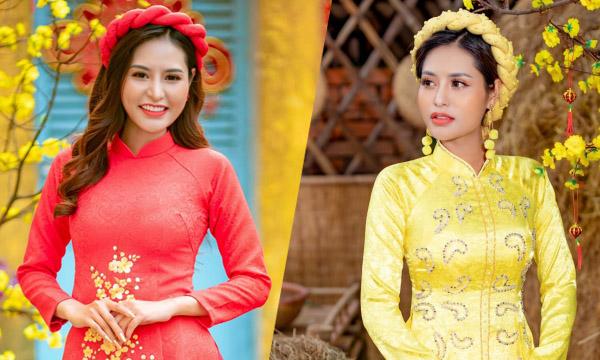"""Hoa hậu Di Khả Hân muốn dành tặng ba mẹ một mùa """"Tết Đủ Đầy"""""""