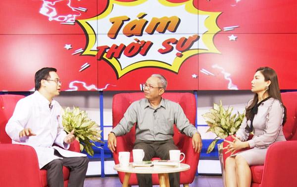 Nghệ sĩ Trung Dân chia sẻ thông tin bổ ích và cách phòng chống dịch corona tại Chuyện Nóng 24H