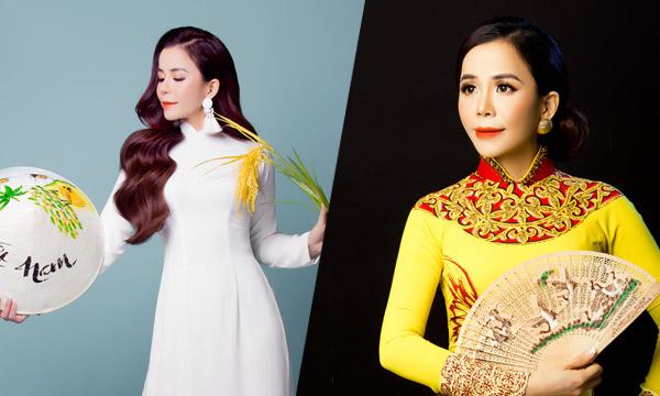"""Mrs International World 2019 Oanh Lê cứ diện áo dài là """"auto"""" gây thương nhớ"""